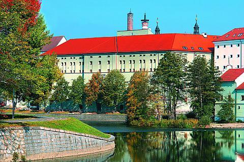 2. Královský hrad / Prácheňské muzeum, Písek - panoramatická senzitivní mapa, foto: Archiv Vydavatelství MCU s.r.o.