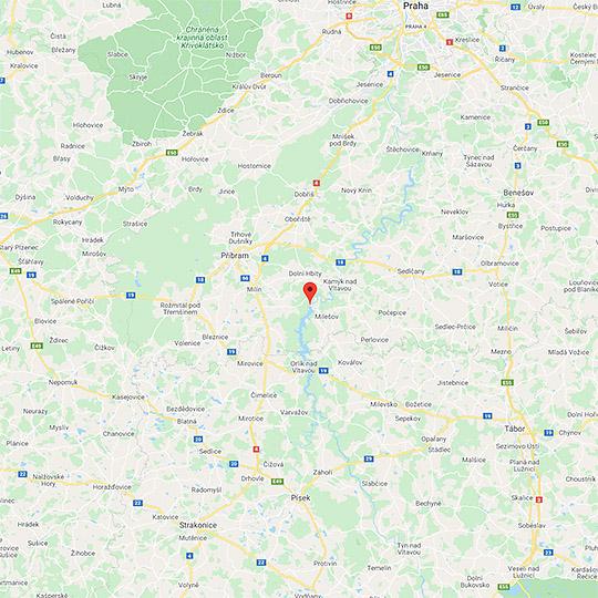 8. Domovní znamení, Písek - panoramatická senzitivní mapa, foto: Archiv Vydavatelství MCU s.r.o.