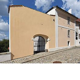 Písek - The Jewish Synagogue, photo by: Archiv Vydavatelství MCU s.r.o.